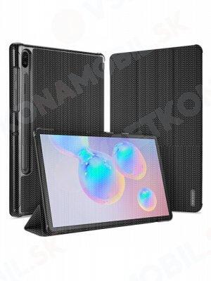 DUX DOMO Zaklápací kryt Samsung Galaxy Tab S6 (T860) čierny