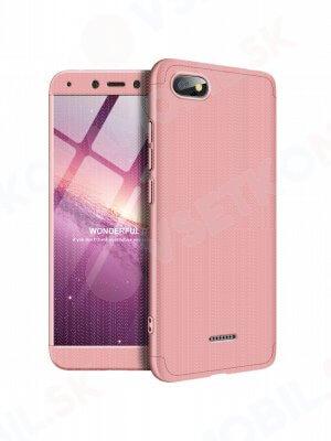 360 ° ochranný kryt Xiaomi Redmi 6A růžový