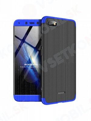 360 ° ochranný kryt Xiaomi Redmi 6A černý (modrý)