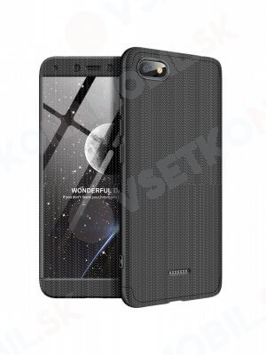 360 ° ochranný kryt Xiaomi Redmi 6A černý