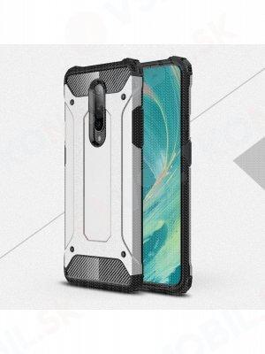 TOUGH Ochranný obal OnePlus 7 stříbrný