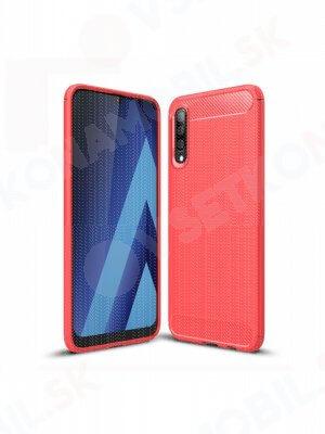 FLEXI TPU obal Samsung Galaxy A70 červený