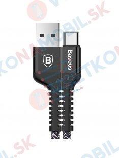 BASEUS CONFIDANT datový kabel USB Typ-C (Type-C) černý