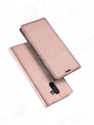 DUX Peňaženkový obal Xiaomi Pocophone F1 růžový