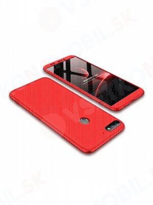 360 ° Ochranný obal Huawei Y7 Prime 2018 červený