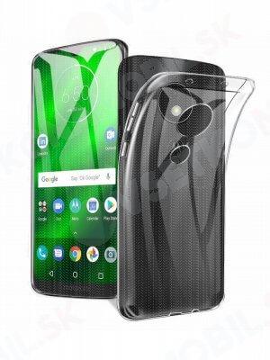 Silikonový obal Motorola Moto G7 Power průhledný