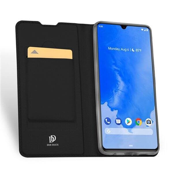 DUX Peňaženkové pouzdro Samsung Galaxy A70 černé