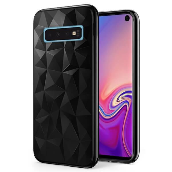 FORCELL PRISM SERIES TPU kryt Samsung Galaxy S10 čierny