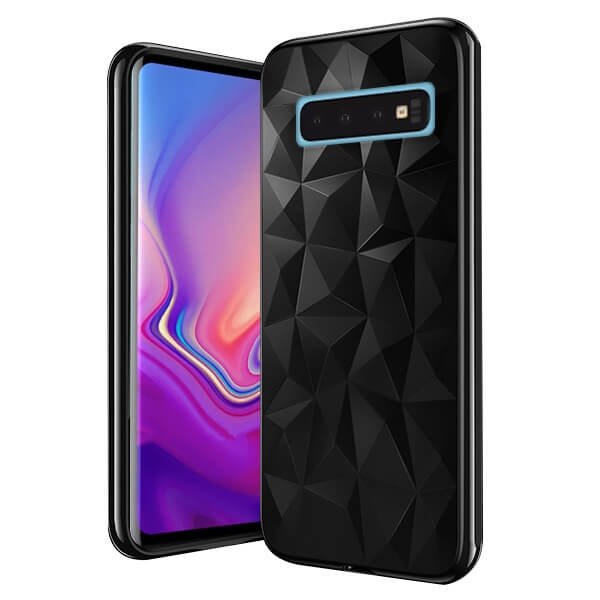 FORCELL PRISM SERIES TPU kryt Samsung Galaxy S10 Plus černý