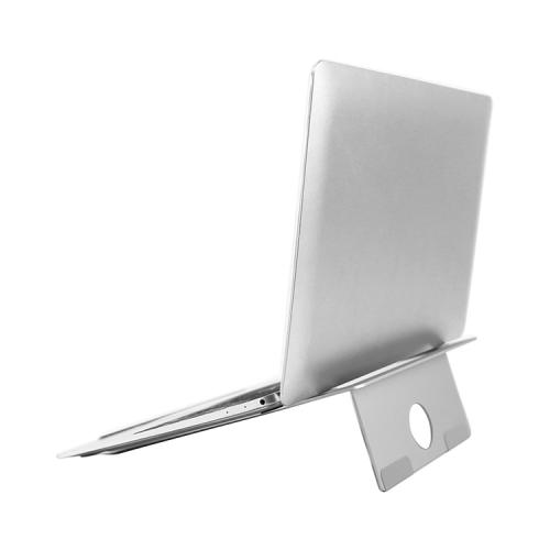 FORCELL Hliníkový stojan na notebook stříbrný