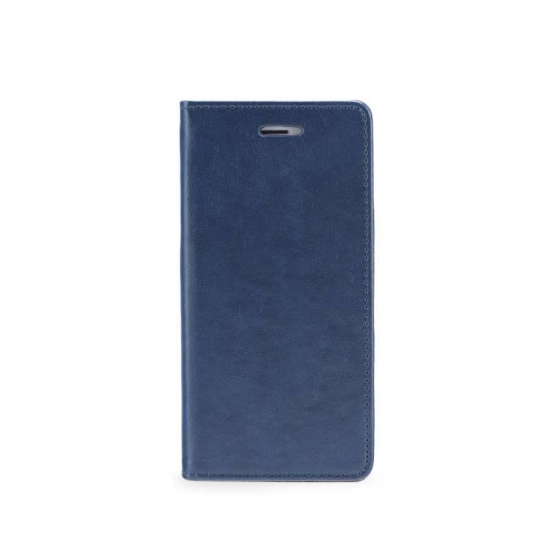 FORCELL LTHR Peňaženkový obal Huawei P10 Lite modrý