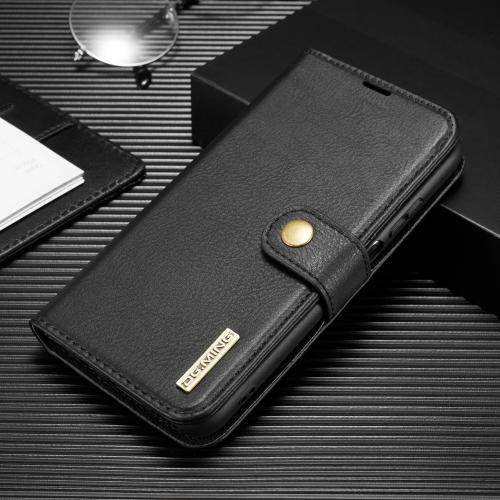 FORCELL DG.MING Peňaženkový obal 2v1 Huawei P40 Lite černý