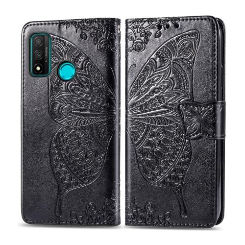FORCELL ART Peňaženkový kryt Huawei P Smart 2020 BUTTERFLY černý