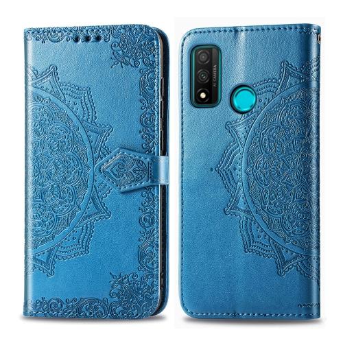 FORCELL ART Peňaženkový obal Huawei P Smart 2020 ORNAMENT modrý