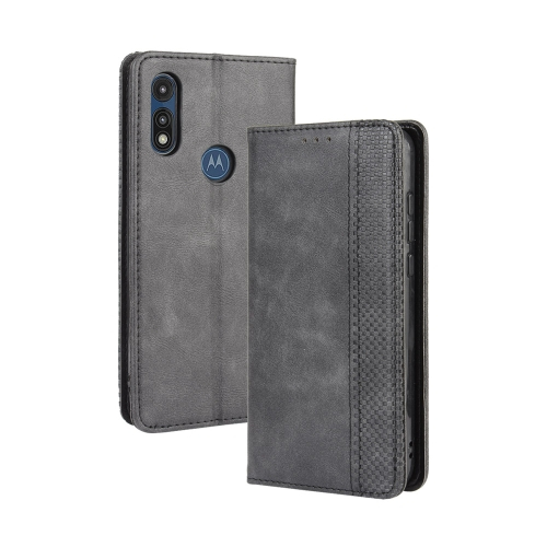 FORCELL BUSINESS Peňaženkový kryt Motorola Moto E (2020) černý