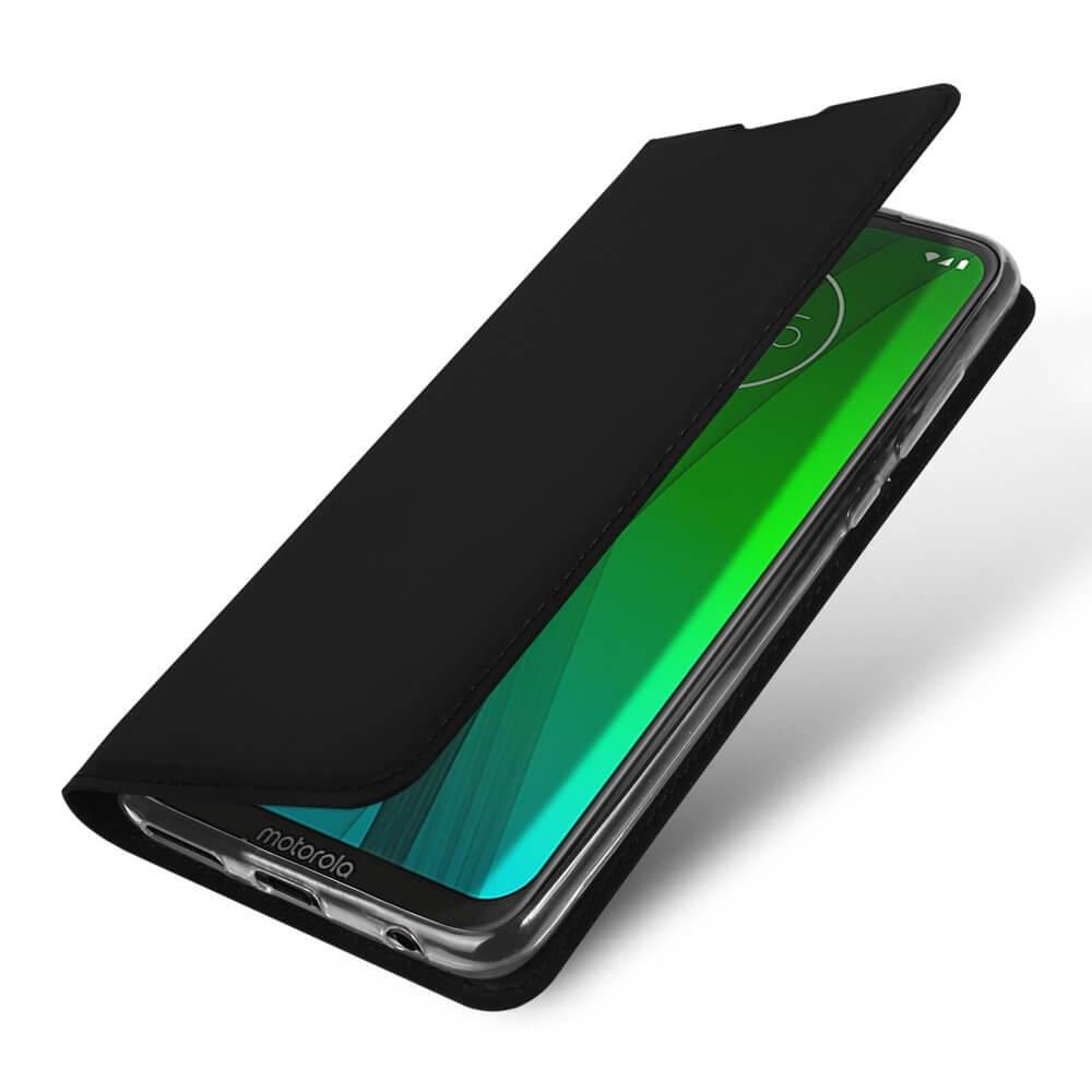 DUX Peňaženkový obal Motorola Moto G7 / G7 Plus černý