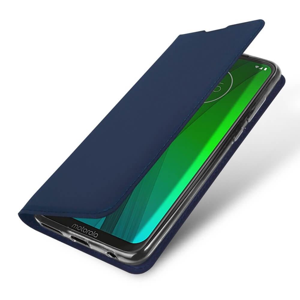 DUX Peňaženkový obal Motorola Moto G7 / G7 Plus modrý