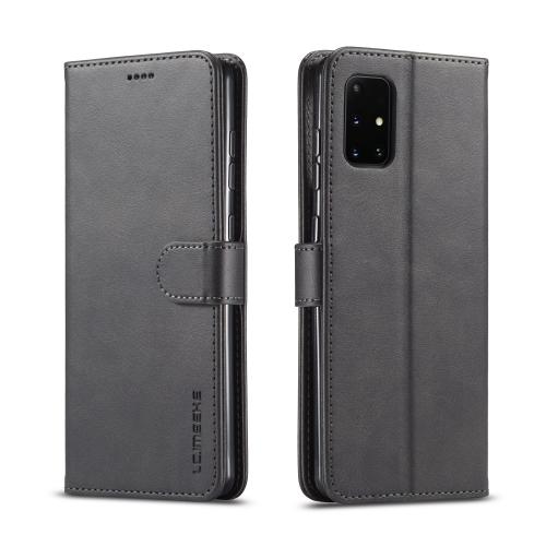 IMEEKE Peňaženkový kryt Samsung Galaxy A41 černý
