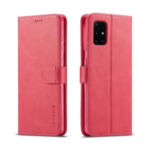 IMEEKE Peňaženkový kryt Samsung Galaxy A41 růžový