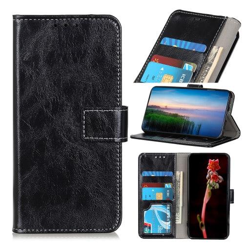 FORCELL RETRO Peňaženkový obal Sony Xperia L4 černý