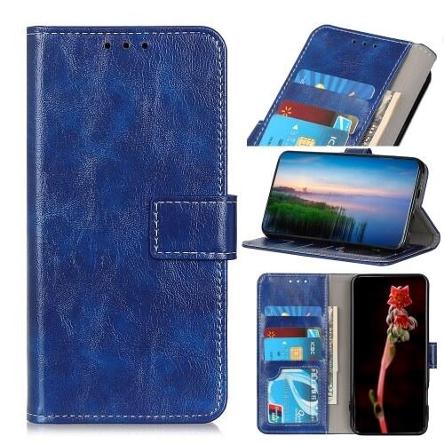 FORCELL RETRO Peňaženkový obal Sony Xperia L4 modrý