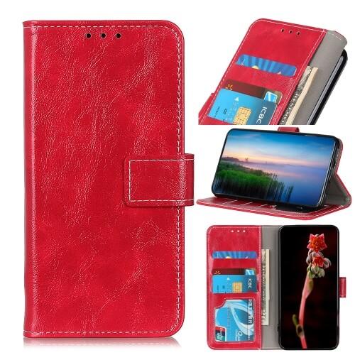 FORCELL RETRO Peňaženkový obal Sony Xperia L4 červený