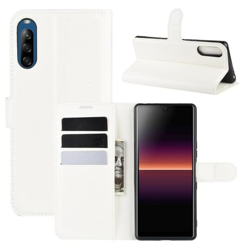 FORCELL LITCHI Peňaženkový kryt Sony Xperia L4 bílý