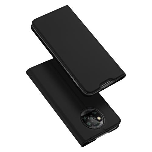DUX Peňaženkový kryt Xiaomi Poco X3 NFC čierny
