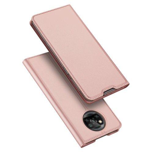 DUX Peňaženkový kryt Xiaomi Poco X3 NFC ružový