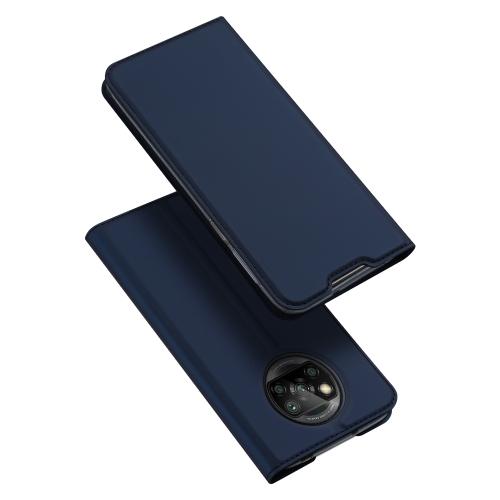 DUX Peňaženkový kryt Xiaomi Poco X3 NFC modrý