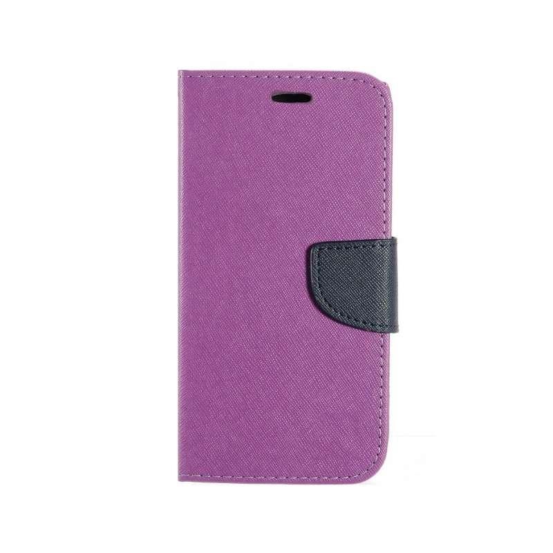 FORCELL FANCY Peňaženkový obal Huawei P10 Lite fialový