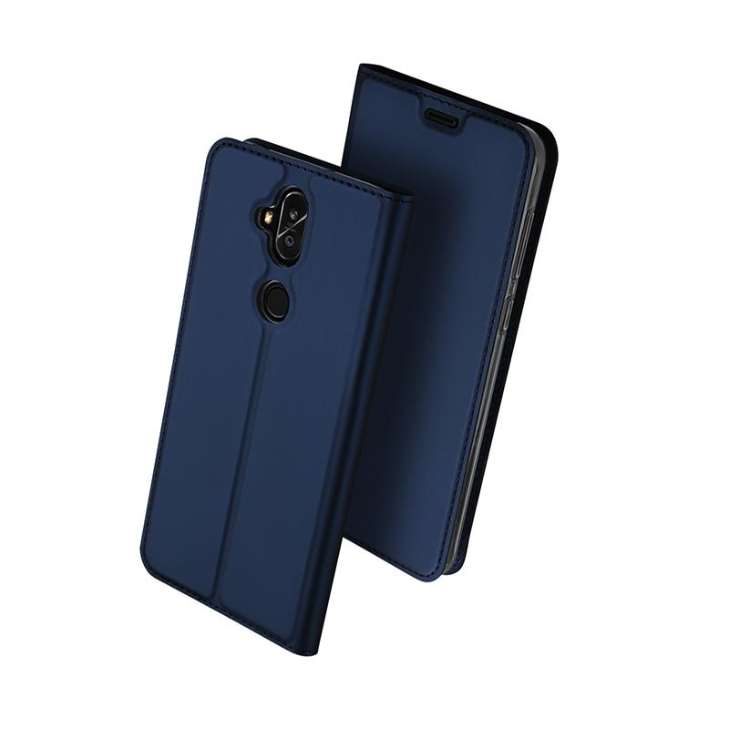DUX Knížkové pouzdro Asus Zenfone 5 Lite (ZC600KL) modré