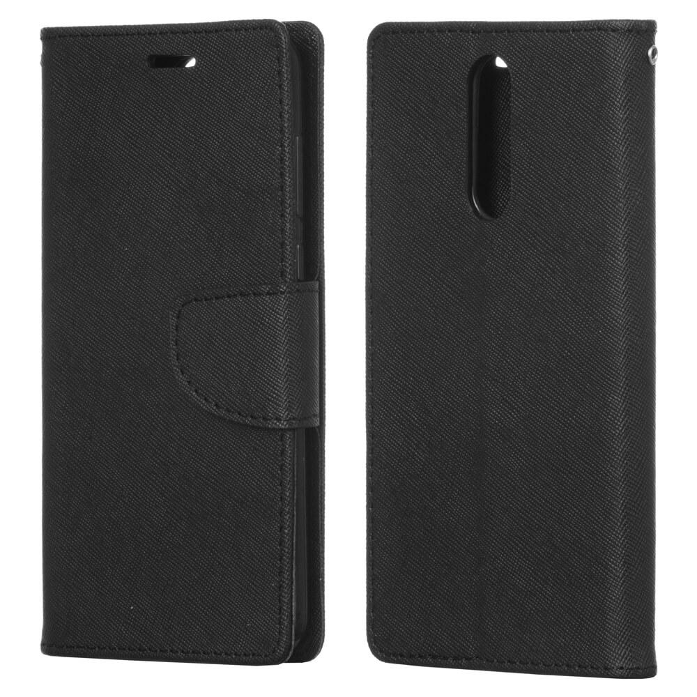 FORCELL FANCY Peňaženkový Kryt Huawei Mate 10 Lite černý