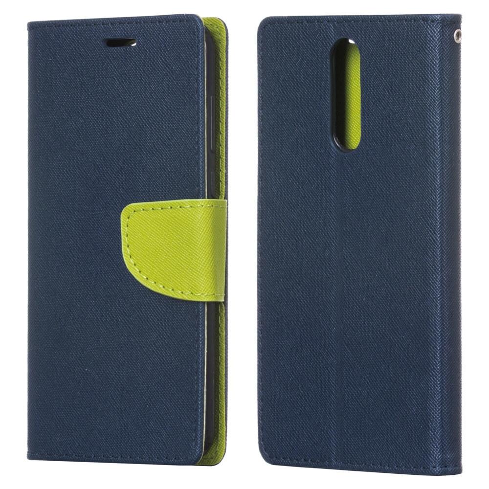 FORCELL FANCY Peňaženkový Kryt Huawei Mate 10 Lite modrý