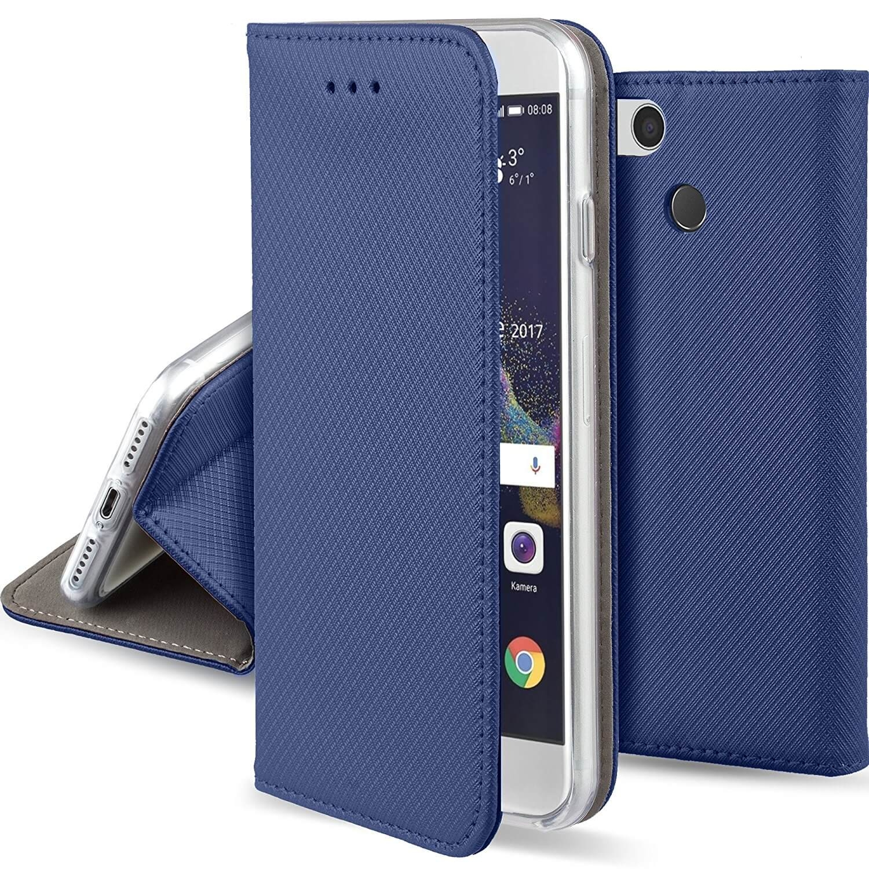 FORCELL MAGNET Peňaženkové púzdro Huawei P9 Lite 2017 modré