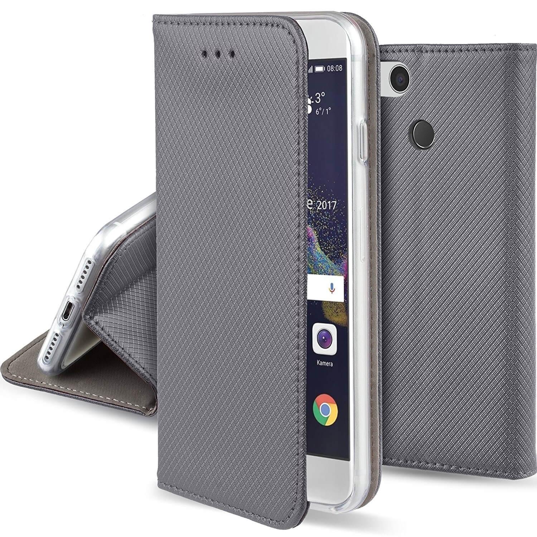 FORCELL MAGNET Peňaženkové púzdro Huawei P9 Lite 2017 šedé