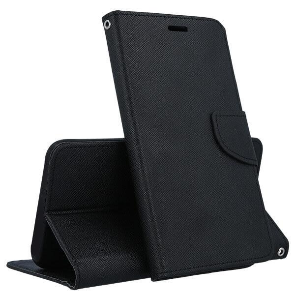 FORCELL FANCY Peňaženkový obal Huawei Y6 Prime 2018 černý