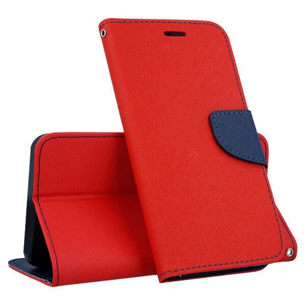 FORCELL FANCY Peňaženkový obal Huawei P9 Lite MINI červený
