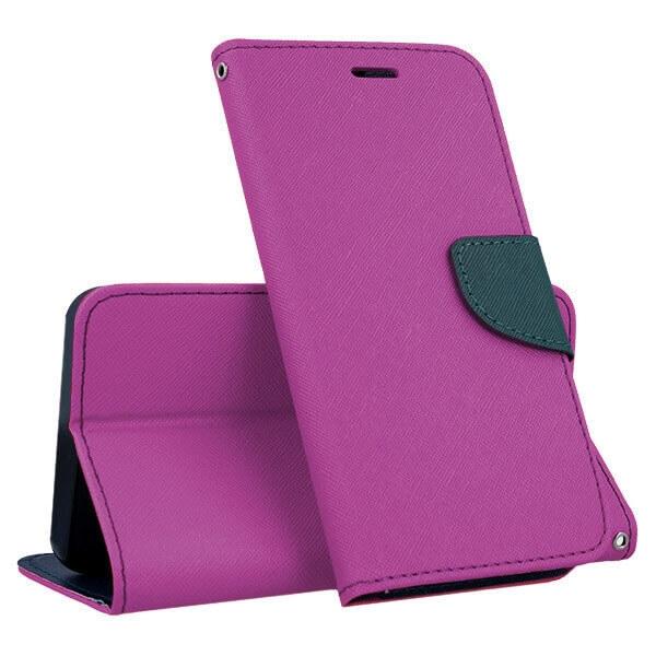 FORCELL FANCY Peňaženkový obal Huawei P9 Lite MINI fialový