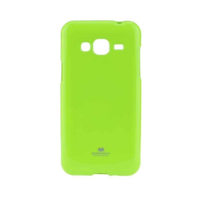 MERCURY JELLY TPU Samsung Galaxy J3 2016 limetkový