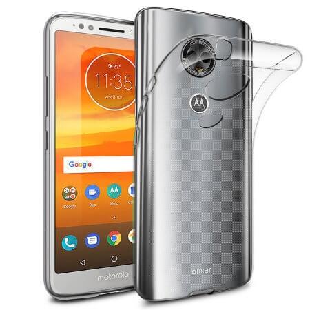 FORCELL Silikonový obal Motorola Moto E5 Plus průhledný