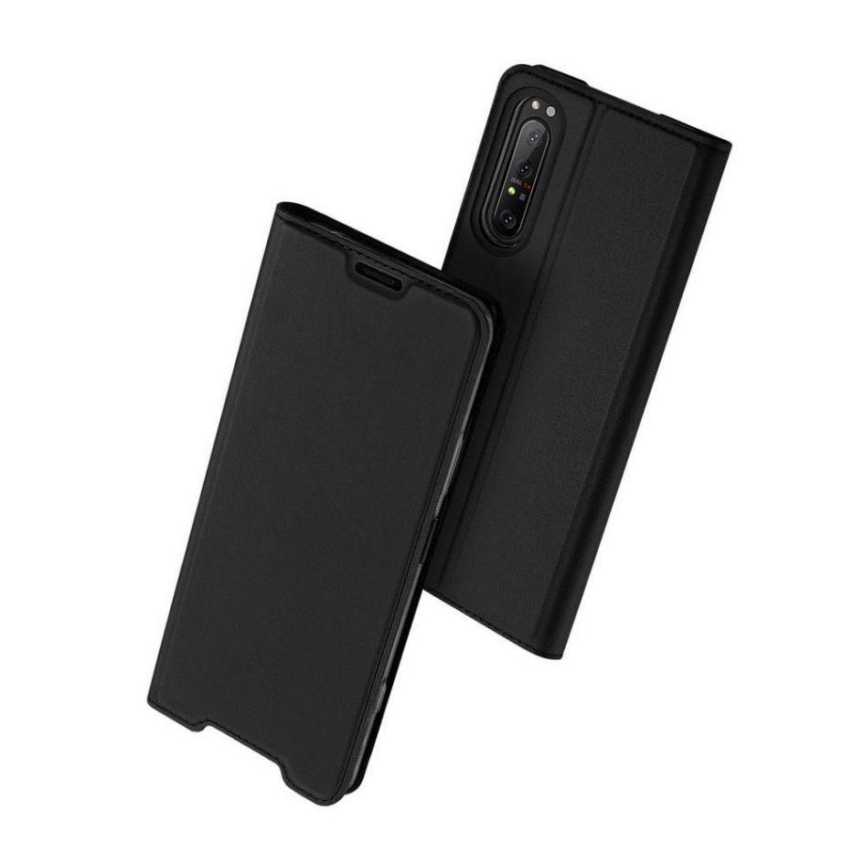 DUX Peňaženkový obal Sony Xperia 1 II černý