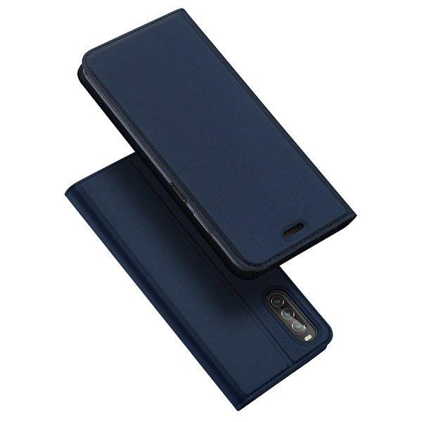 DUX Peňaženkový obal Sony Xperia 10 II modrý