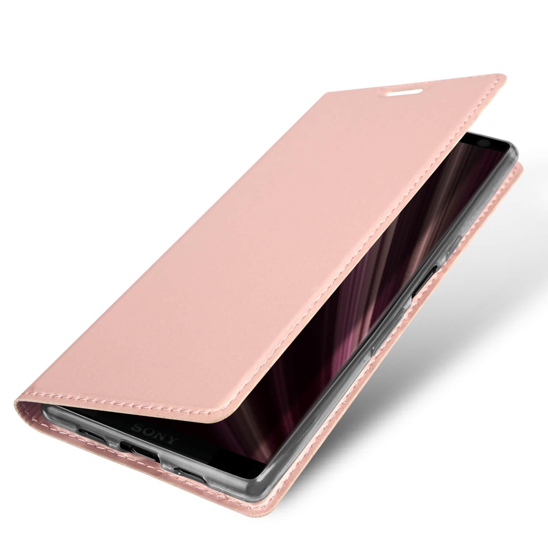 DUX Peňaženkový obal Sony Xperia 10 Plus růžový