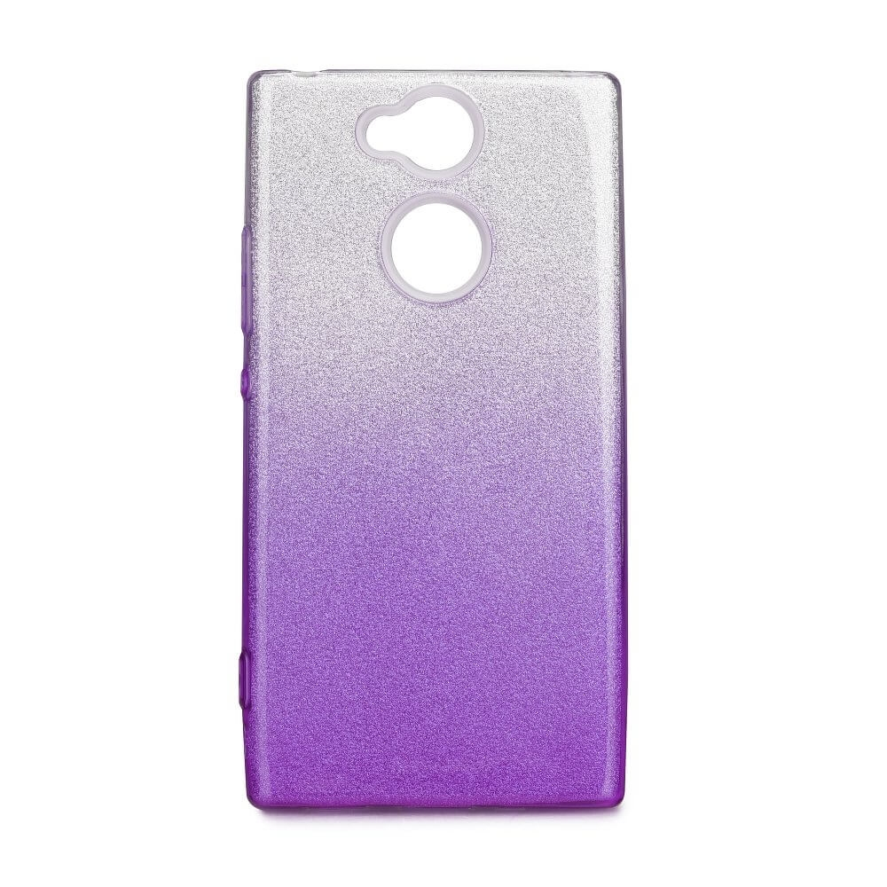 FORCELL SHINING Ochranný kryt Sony Xperia XA2 stříbrno-fialový