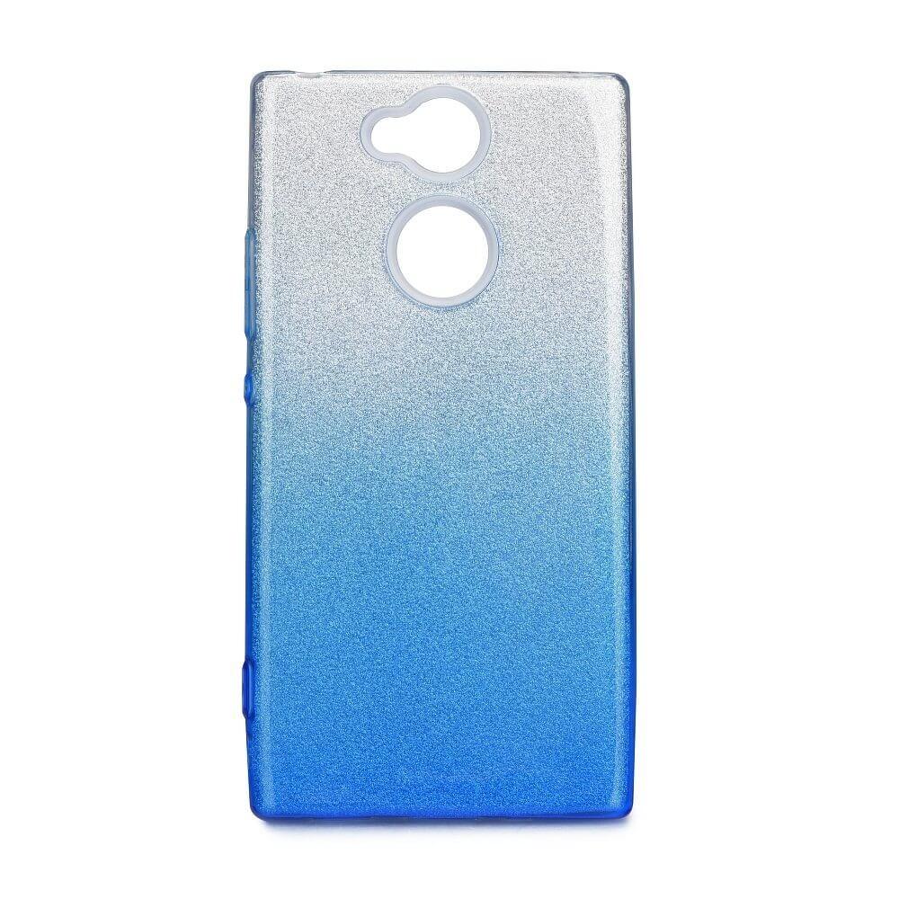 FORCELL SHINING Ochranný kryt Sony Xperia XA2 strieborno-modrý