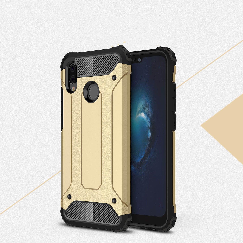 FORCELL TOUGH Ochranný kryt Huawei P20 Lite zlatý