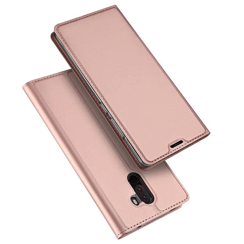 DUX flipových pouzdro Xiaomi Pocophone F1 růžový