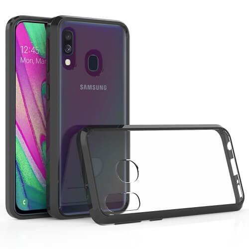 FORCELL Odolný obal Samsung Galaxy A40 černý