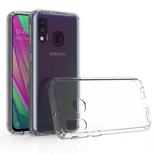 FORCELL Odolný obal Samsung Galaxy A40 průhledný